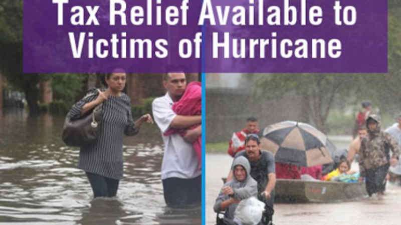 Tax Relief for Hurricane HARVEY