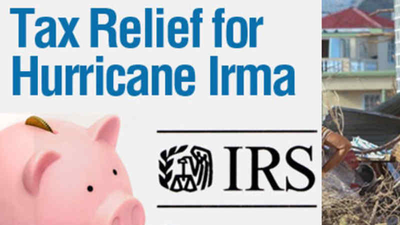 Tax Relief for Hurricane IRMA