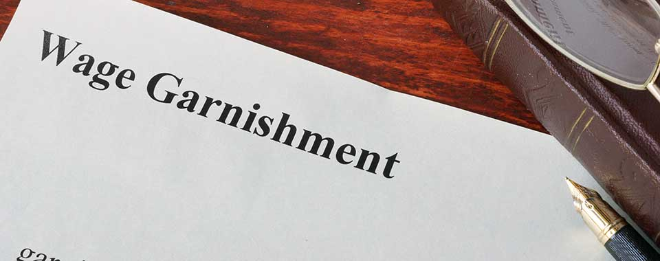 Wage Garnishment Notice